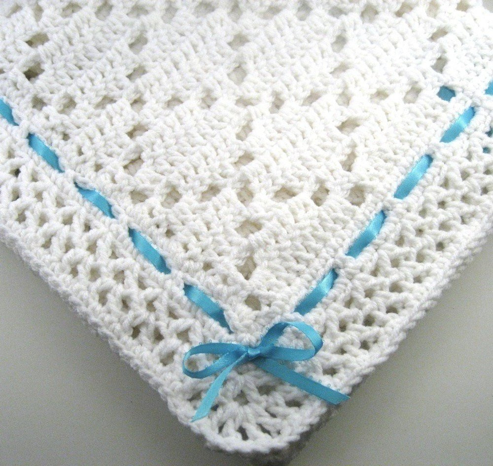 Baby Blanket Patterns Awesome Pdf Pattern Crocheted Baby Afghan Diamond Lace Baby Afghan Of Delightful 50 Pictures Baby Blanket Patterns