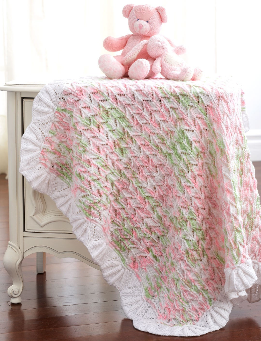 Baby Blanket Patterns Beautiful Lacy Blanket to Knit In Bernat Baby Sport Of Delightful 50 Pictures Baby Blanket Patterns