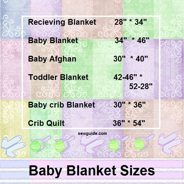 Baby Blanket Size Beautiful Know Your Baby S Blanket & Quilt Size Sew Guide Of Great 43 Ideas Baby Blanket Size