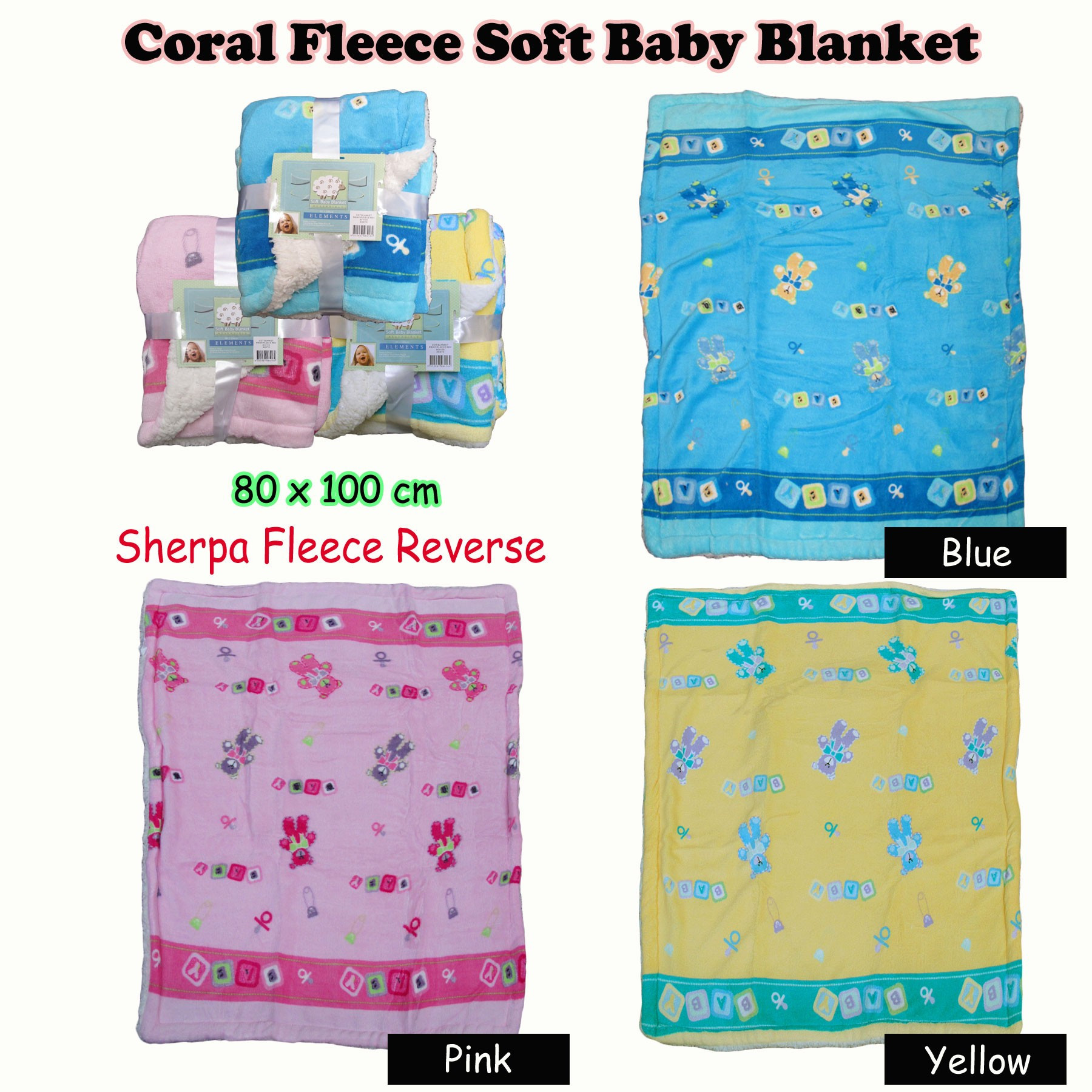 Baby Blanket Size Luxury soft Coral Fleece Baby Blanket 80 X 100 Cm Cot Size by Of Great 43 Ideas Baby Blanket Size