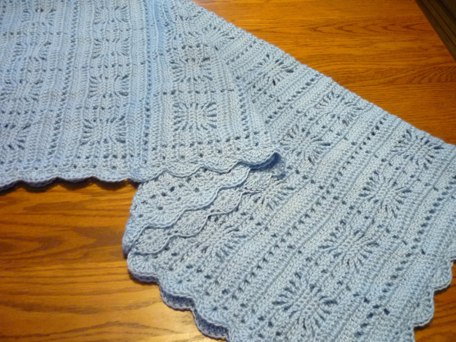Baby Blanket Size Unique Crochet Baby Blanket toddler Size Blanket by Pegsyarncreations Of Great 43 Ideas Baby Blanket Size