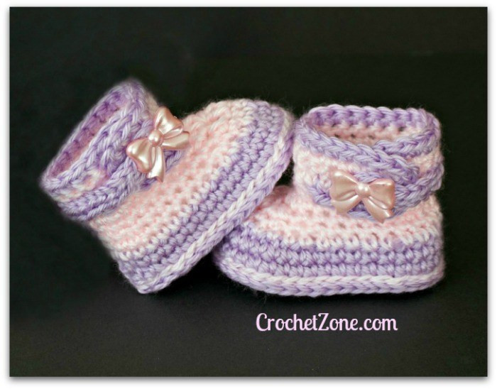 Baby Booties Crochet Pattern Best Of Free Crochet Pattern for Fuzzy Booties Crochet Zone Of Top 49 Pictures Baby Booties Crochet Pattern