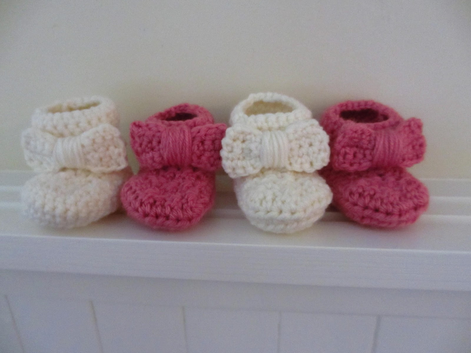 Baby Booties Crochet Pattern Elegant Jay S Boutique Blog Free Pattern Bow Baby Booties Of Top 49 Pictures Baby Booties Crochet Pattern