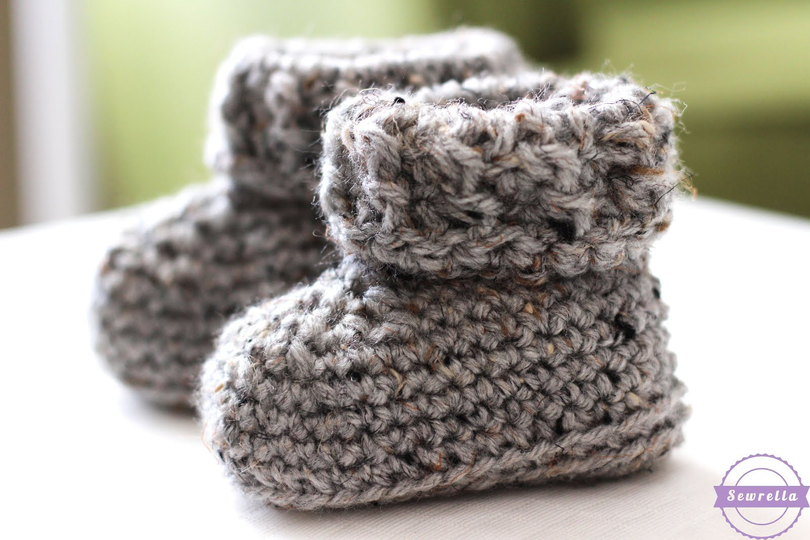 Baby Booties Crochet Pattern Lovely the Parker Crochet Baby Booties Sewrella Of Top 49 Pictures Baby Booties Crochet Pattern