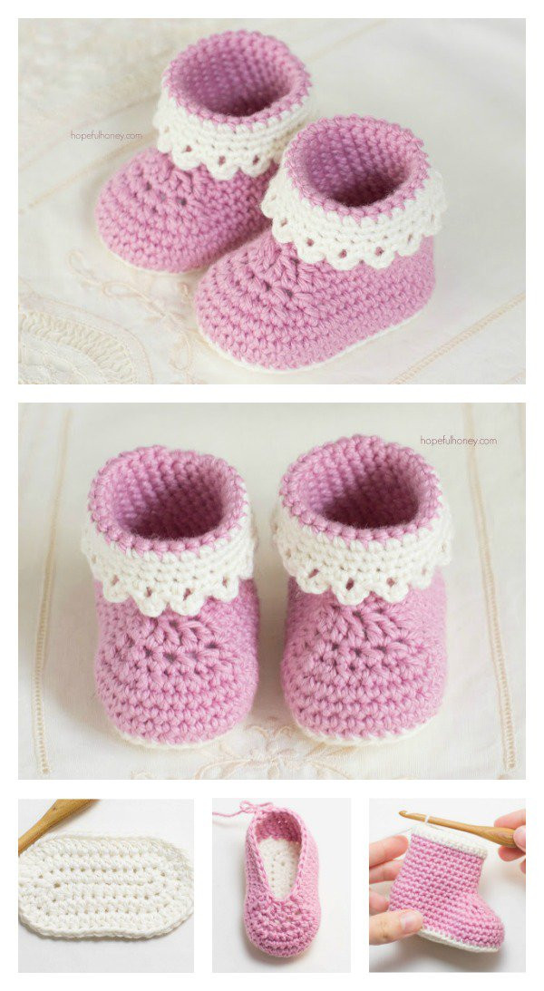 Baby Booties Crochet Pattern New Pink Lady Baby Booties Free Crochet Patterns Of Top 49 Pictures Baby Booties Crochet Pattern