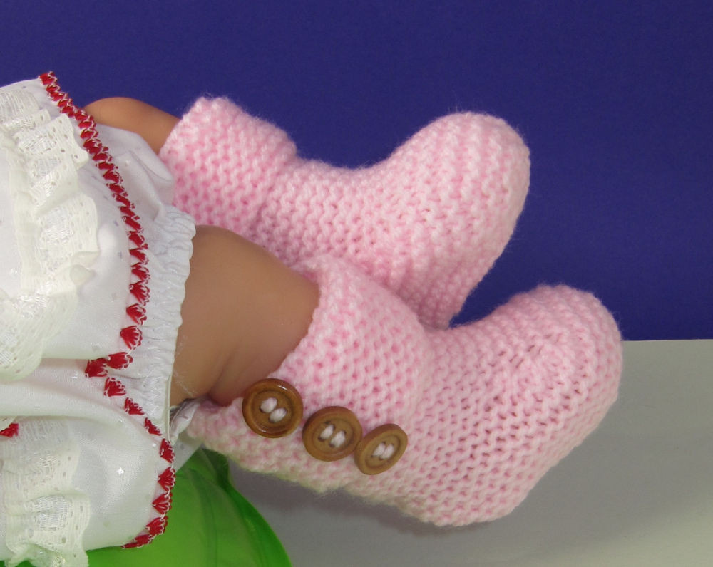 Baby Booties Pattern Best Of Printed Instructions Easy Baby 3 button Garter Stitch Of Amazing 50 Pics Baby Booties Pattern