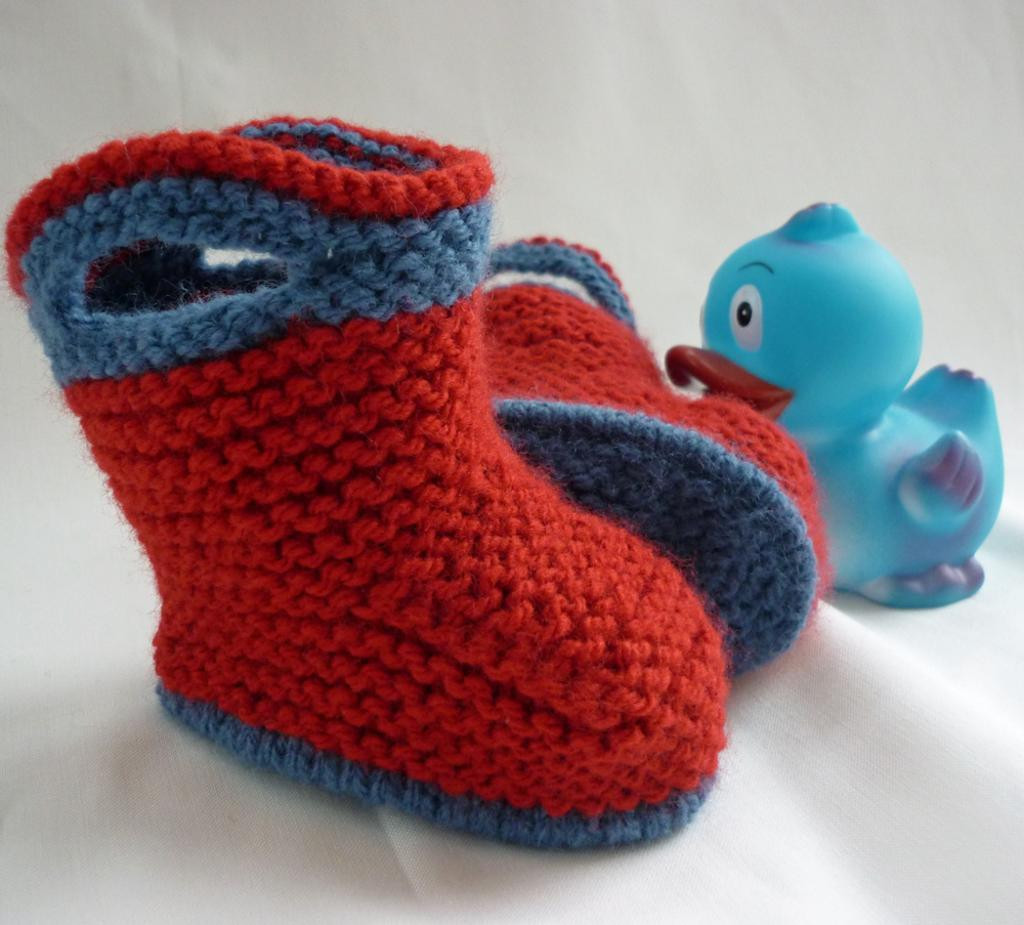Baby Booties Knit Patterns