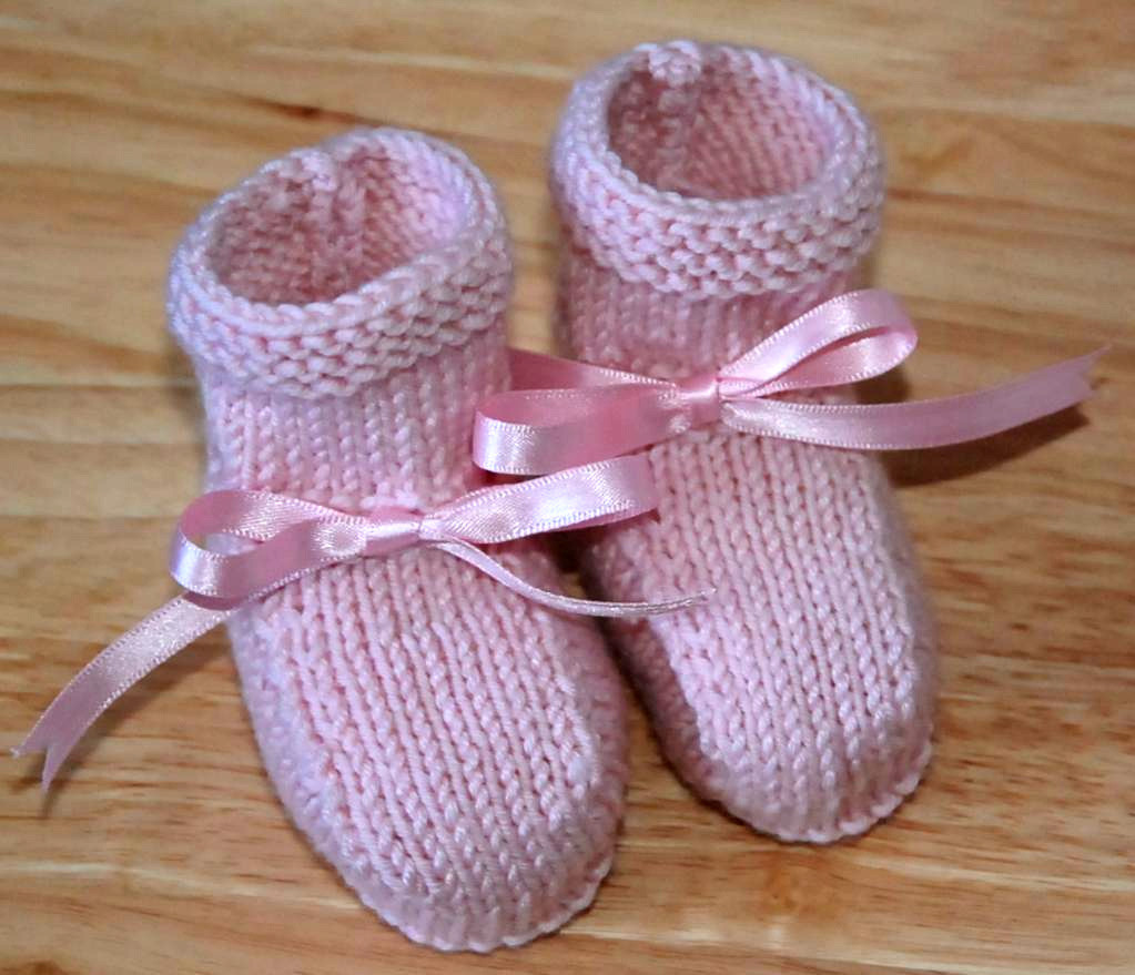 free simple knitting patterns for babies