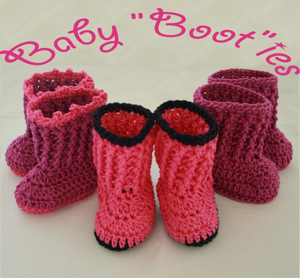 Baby Booties Pattern Luxury Craftdrawer Crafts Free Easy to Crochet socks Pattern Of Amazing 50 Pics Baby Booties Pattern