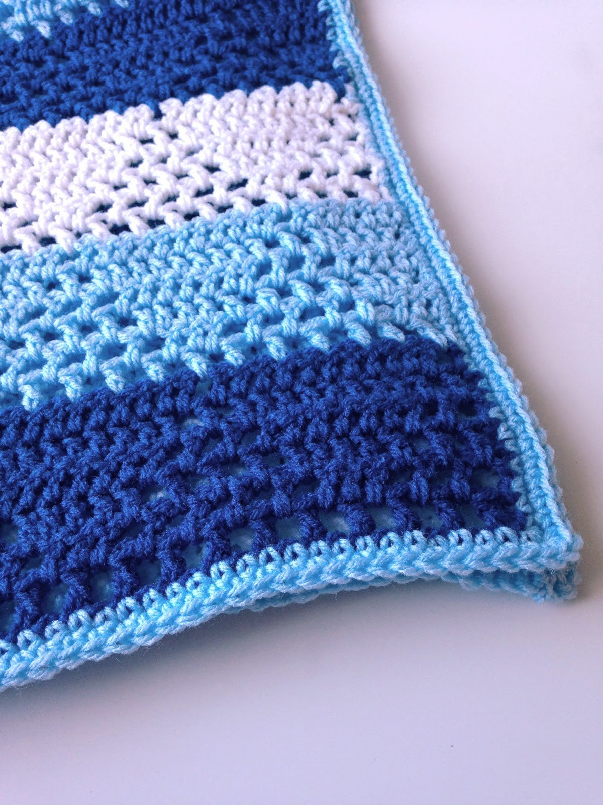 Baby Boy Crochet Blanket Patterns Elegant 5 Little Monsters Triangles & Stripes Baby Blanket Of Baby Boy Crochet Blanket Patterns New Free Baby Blanket Crochet Patterns Easy