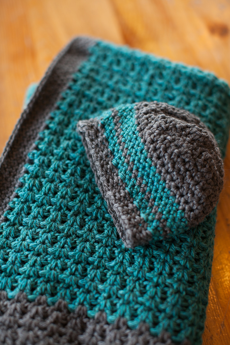 Baby Boy Crochet Blanket Patterns Elegant Free Pattern Baby Blanket and Hat Of Baby Boy Crochet Blanket Patterns Inspirational Turquoise Baby Blanket Chunky Crochet Blanket for Baby Boy