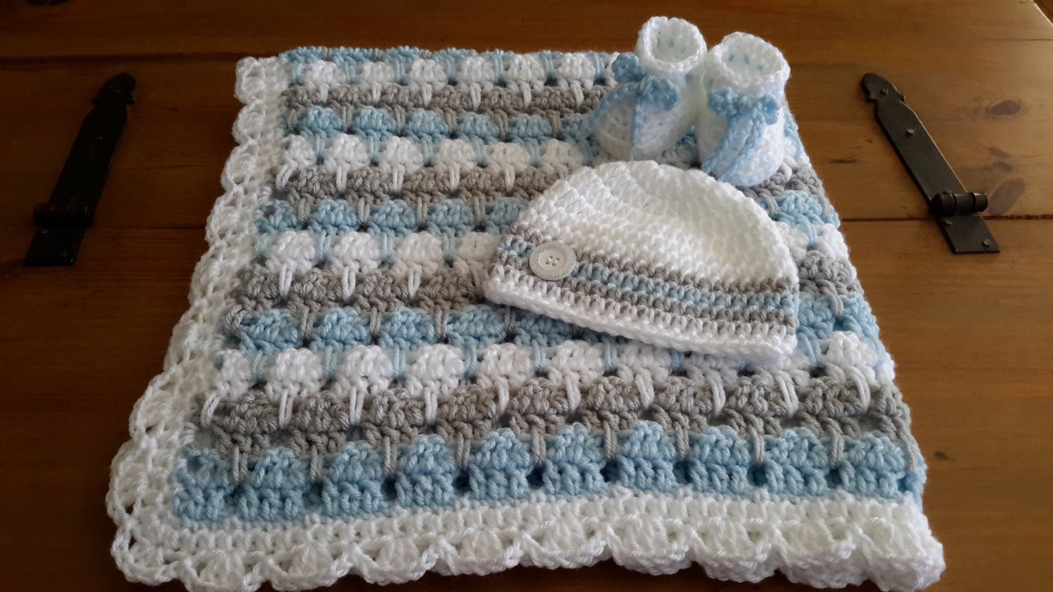 Baby Boy Crochet Blanket Patterns Lovely Baby Boy Blanket Crochet Stripe Crochet Blanket Afghan Of Baby Boy Crochet Blanket Patterns Luxury Baby Blanket with Cabled Border Crochet Pattern