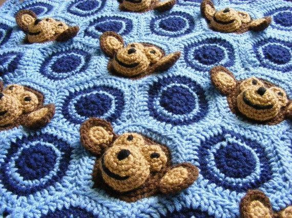 Baby Boy Crochet Blanket Patterns Lovely Baby Boy Crochet by Twoseasidebabes Of Baby Boy Crochet Blanket Patterns Beautiful Marvelous Monkey Blankets Free Crochet Patterns