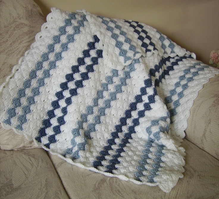 Baby Boy Crochet Blanket Patterns Lovely Crochet Baby Afghan Patterns for Boy Dancox for Of Baby Boy Crochet Blanket Patterns New Beautiful Baby Boy Blanket Crochet Pattern for Pram