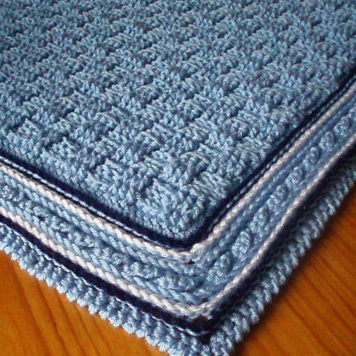 Baby Boy Crochet Blanket Patterns Luxury Baby Blanket with Cabled Border Crochet Pattern Of Baby Boy Crochet Blanket Patterns Lovely Navy and Teal for A Baby Boy