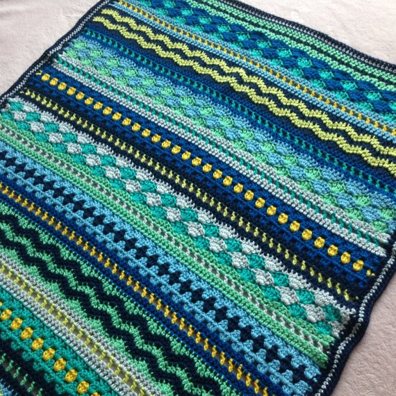 Baby Boy Crochet Blanket Patterns New Crochet Baby Blanket Pattern Tutorial Baby Blues Blanket Of Baby Boy Crochet Blanket Patterns Lovely Navy and Teal for A Baby Boy
