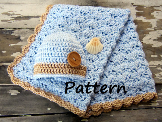 Baby Boy Crochet Blanket Patterns Unique Crochet Baby Boy Blanket Free Patterns Of Baby Boy Crochet Blanket Patterns Luxury Baby Blanket with Cabled Border Crochet Pattern