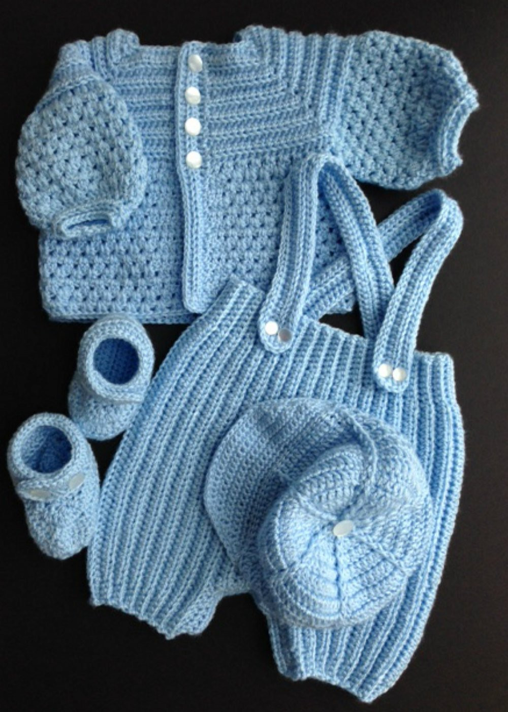 Baby Boy Crochet Patterns Unique Baby Boy Crocheted Outfit Of Awesome 41 Models Baby Boy Crochet Patterns
