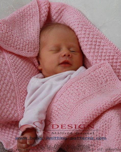 Baby Knitting Patterns easy baby blanket to knit