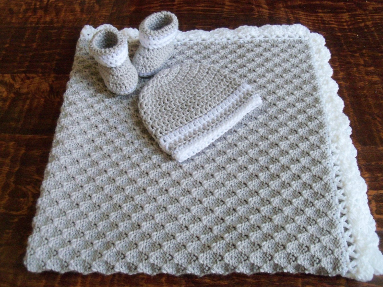 Baby Boy Knitted Blanket Inspirational Knit Crochet Personalized Baby Boy Blanket Hat and Booties Of Incredible 43 Photos Baby Boy Knitted Blanket