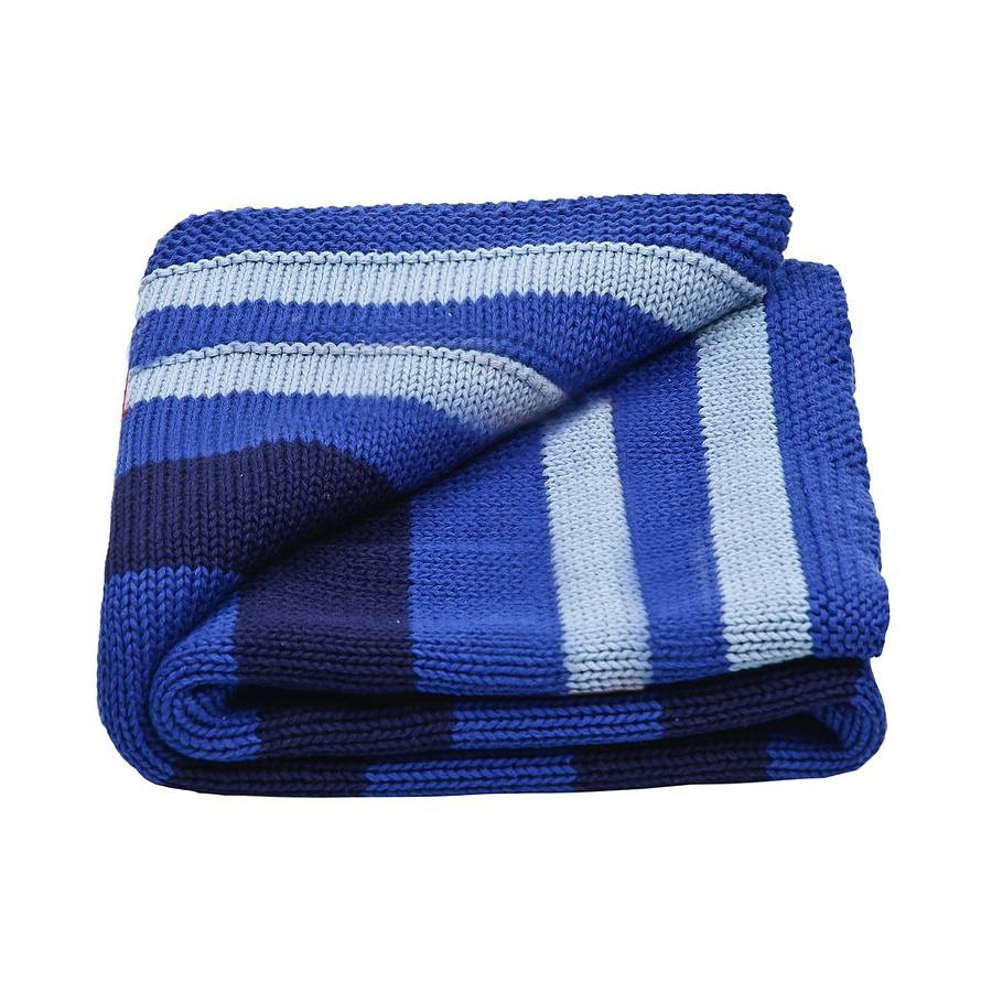 Baby Boy Knitted Blanket Luxury Baby Boy S Stripy Knitted Blanket by toffee Moon Of Incredible 43 Photos Baby Boy Knitted Blanket