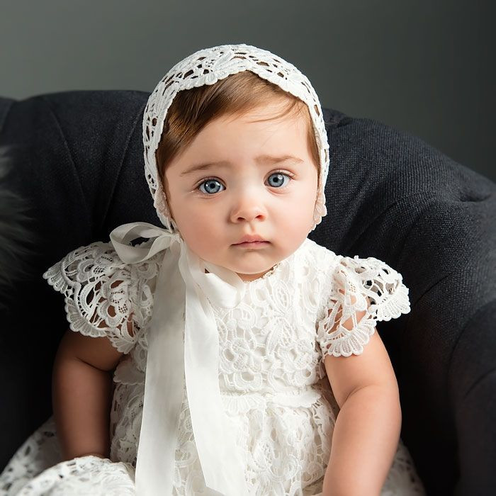 Baby Christening Gowns Awesome Lola Christening Gown & Bonnet Of Incredible 40 Models Baby Christening Gowns