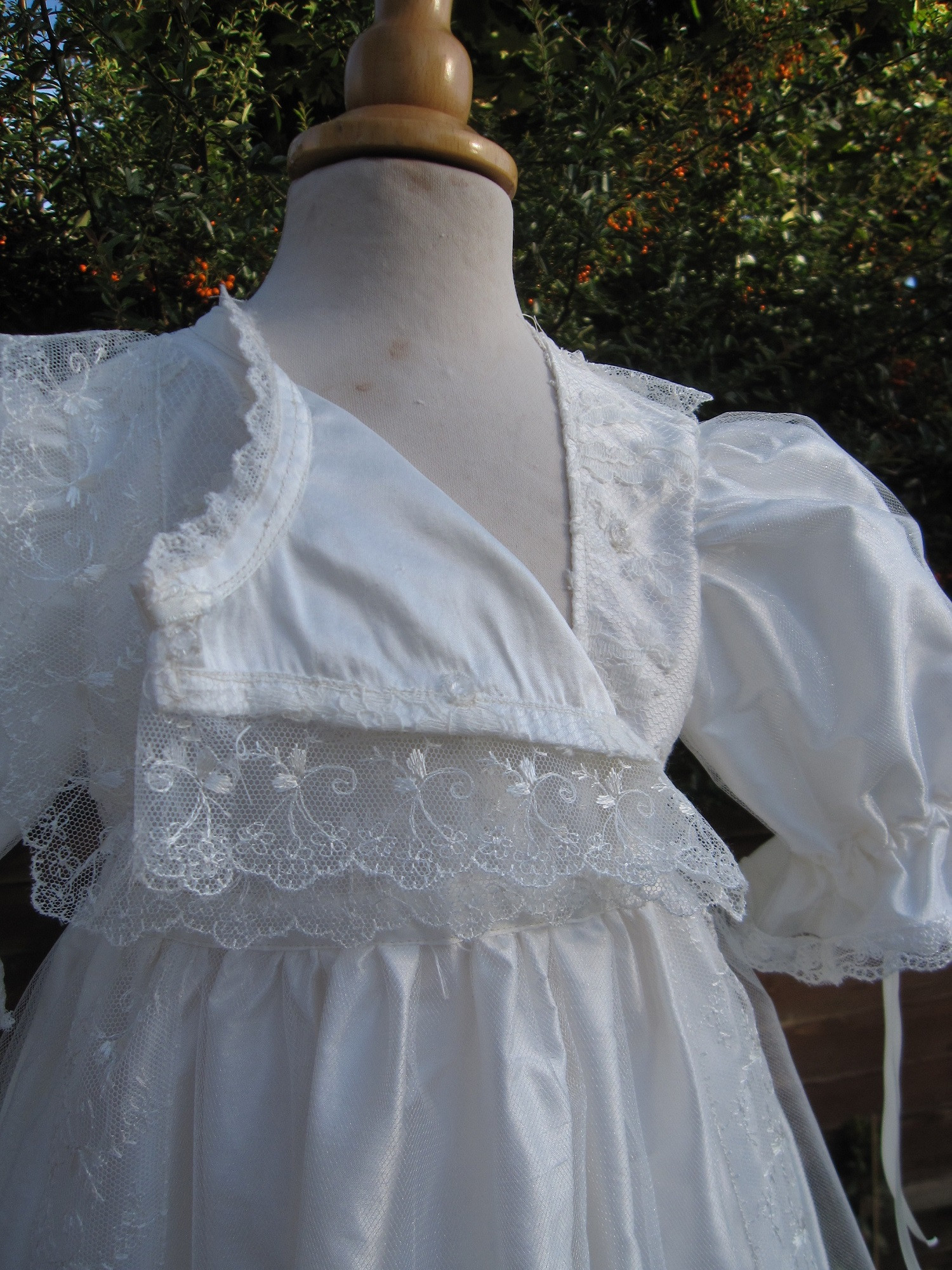 Baby Christening Gowns Fresh Front Opening Baptism Gown In Edwardian Style for Of Incredible 40 Models Baby Christening Gowns