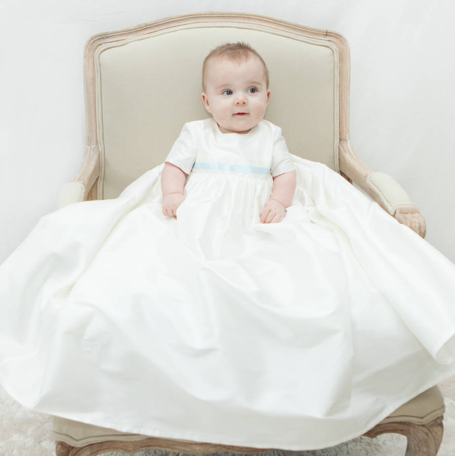 Baby Christening Gowns Inspirational Boys Silk Christening Gown Harry by Adore Baby Of Incredible 40 Models Baby Christening Gowns