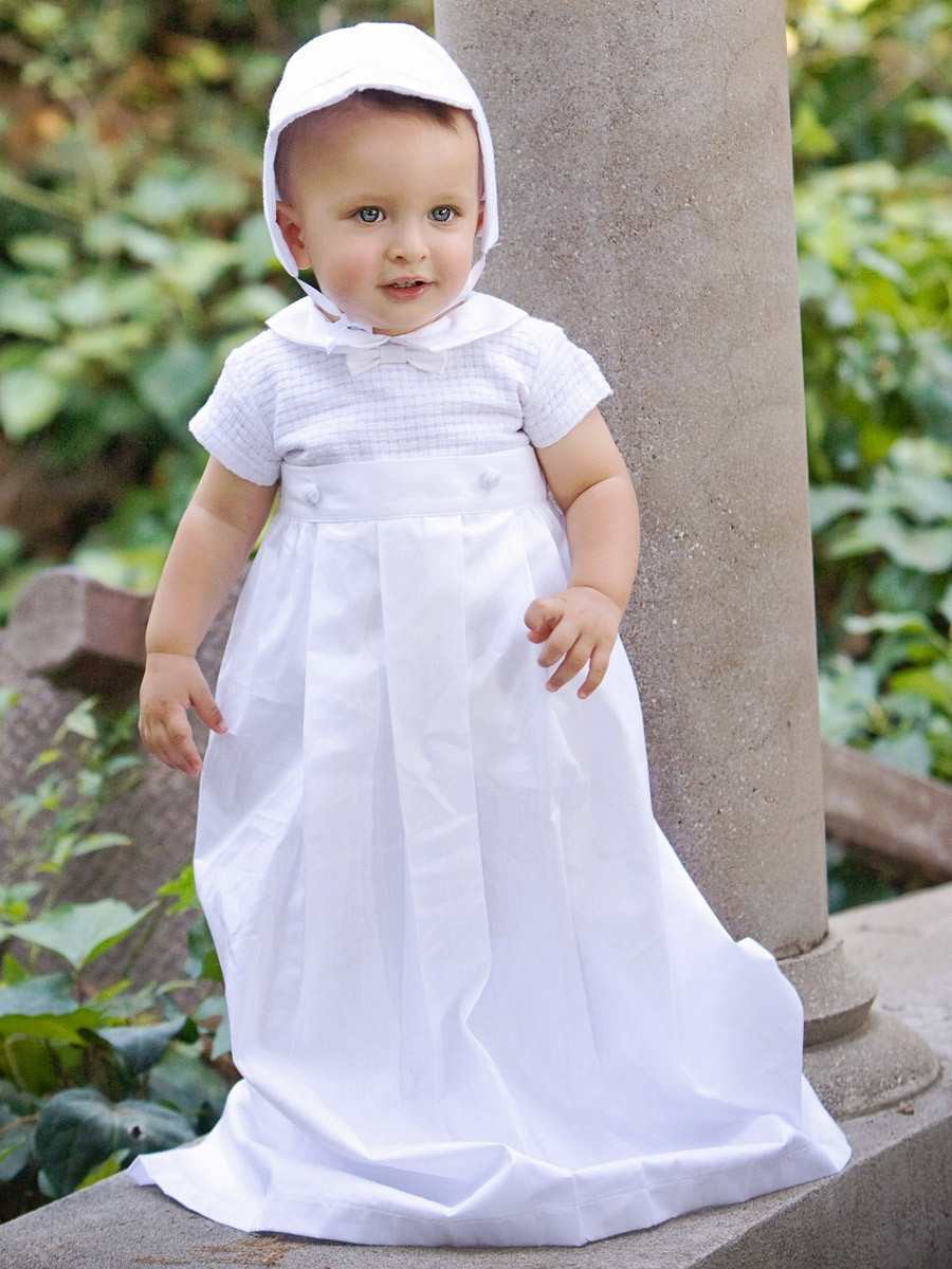 Baby Christening Gowns Luxury Boys Christening Cotton Weaved Romper W Detachable Gown Of Incredible 40 Models Baby Christening Gowns