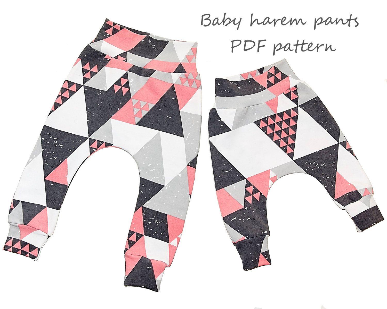 Baby Clothes Patterns Beautiful Baby Harem Pants Pattern Pdf Sewing Patterns and Of Wonderful 46 Pictures Baby Clothes Patterns