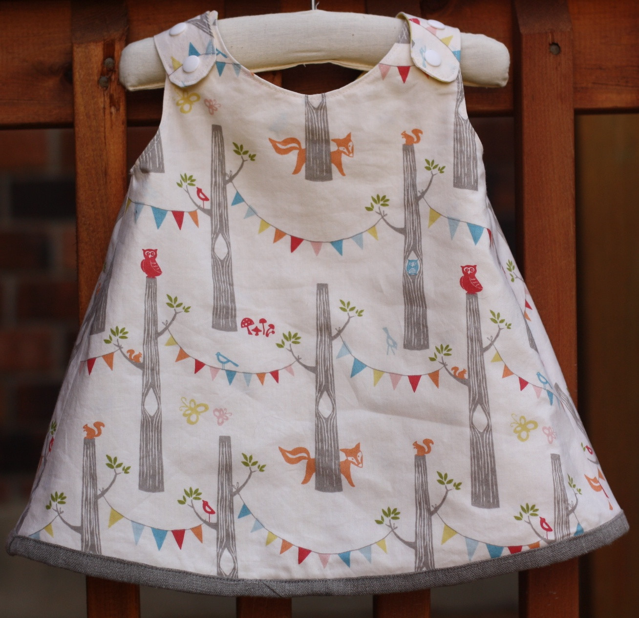 Stitched To her Serena Baby Dress