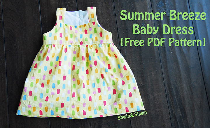 Baby Clothes Patterns Lovely Summer Breeze Baby Dress Free Pdf Pattern Shwin and Shwin Of Wonderful 46 Pictures Baby Clothes Patterns