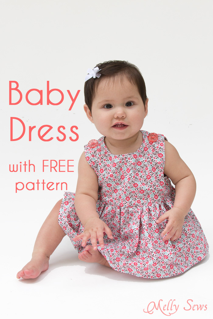 Baby Clothes Patterns New Sew A Baby Dress with Free Pattern Melly Sews Of Wonderful 46 Pictures Baby Clothes Patterns