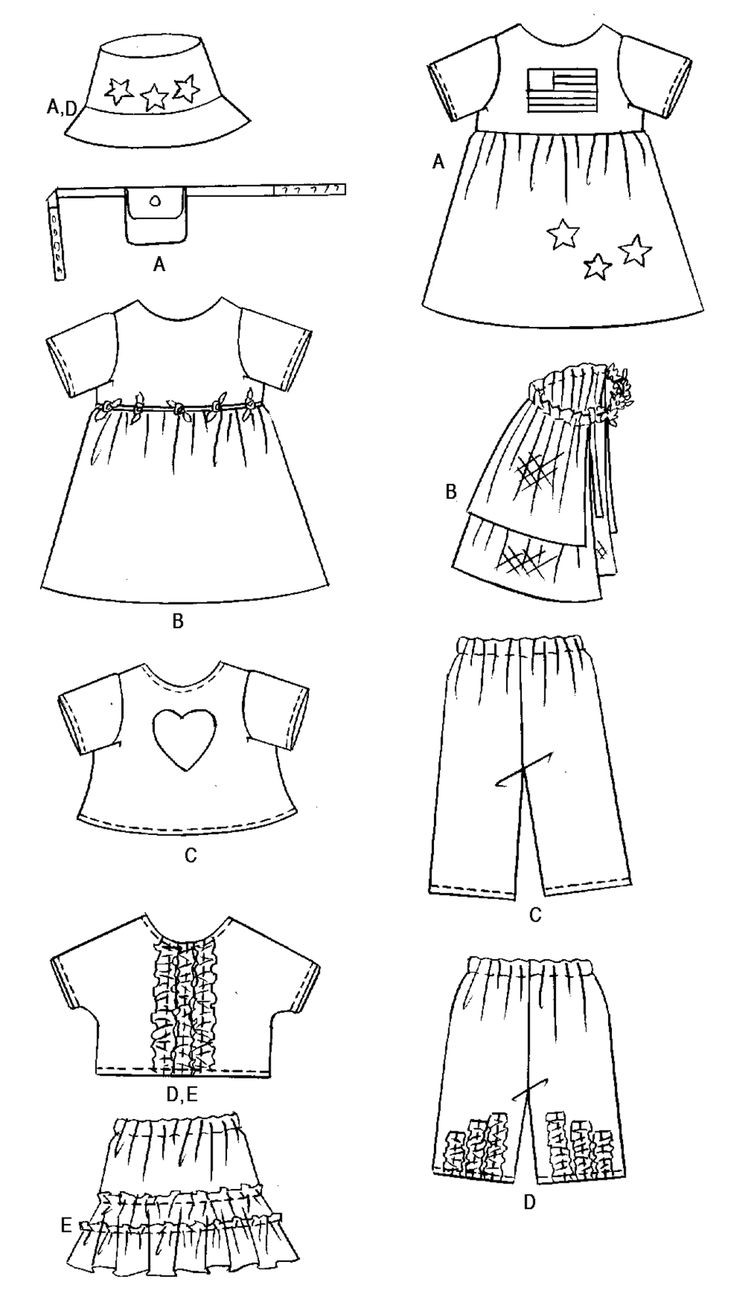 Baby Clothes Patterns Unique 25 Bästa Doll Clothes Patterns Idéerna På Pinterest Of Wonderful 46 Pictures Baby Clothes Patterns