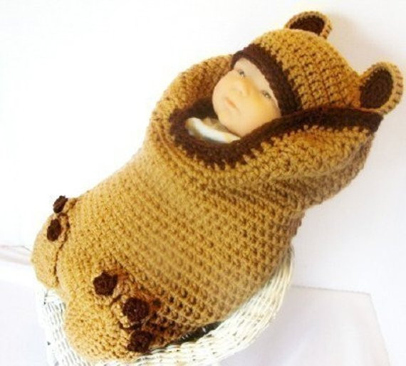 Baby Cocoon Crochet Pattern Best Of Brown Bear Crochet Pattern Cocoon and Hat Set Pdf 140 Of Marvelous 49 Images Baby Cocoon Crochet Pattern
