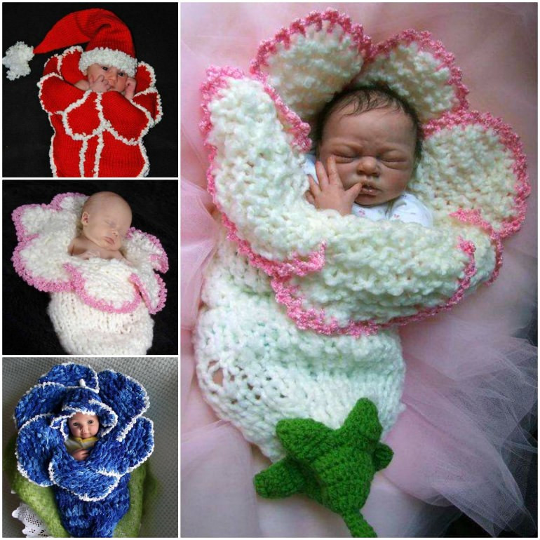 Baby Cocoon Crochet Pattern Inspirational Wonderful Diy Knitted Bell Flower Baby Cocoons Of Marvelous 49 Images Baby Cocoon Crochet Pattern