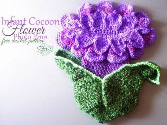Baby Cocoon Crochet Pattern Luxury Crocheted Flower Baby Cocoons are Adorable Of Marvelous 49 Images Baby Cocoon Crochet Pattern