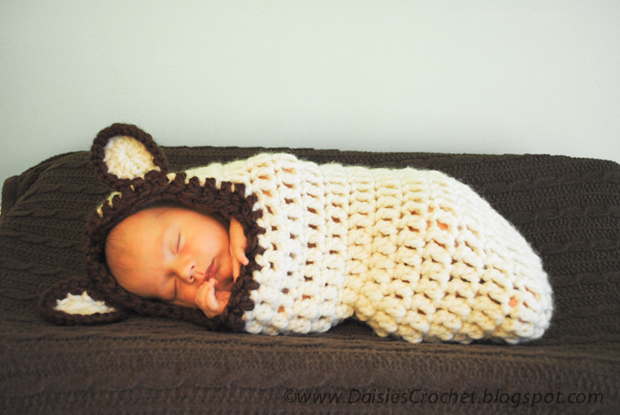 "Baby Cocoon Crochet Pattern New Daisies Crochet Crochet Baby Cocoon Pdf Pattern ""beary Of Marvelous 49 Images Baby Cocoon Crochet Pattern"