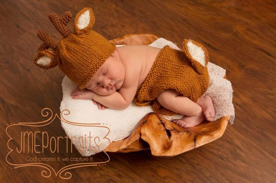 Baby Deer Hat Awesome Unavailable Listing On Etsy Of Top 50 Photos Baby Deer Hat