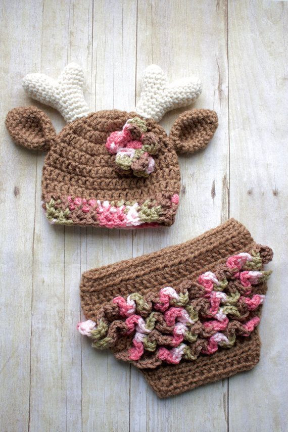 Baby Deer Hat Inspirational 187 Best Images About Crochet Diaper Cover Sets and Of Top 50 Photos Baby Deer Hat