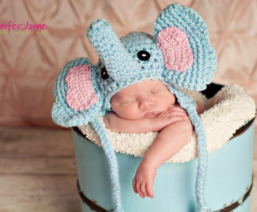 Baby Elephant Hat Awesome Baby Elephant Crochet Hat with Free Pattern Of Marvelous 45 Images Baby Elephant Hat