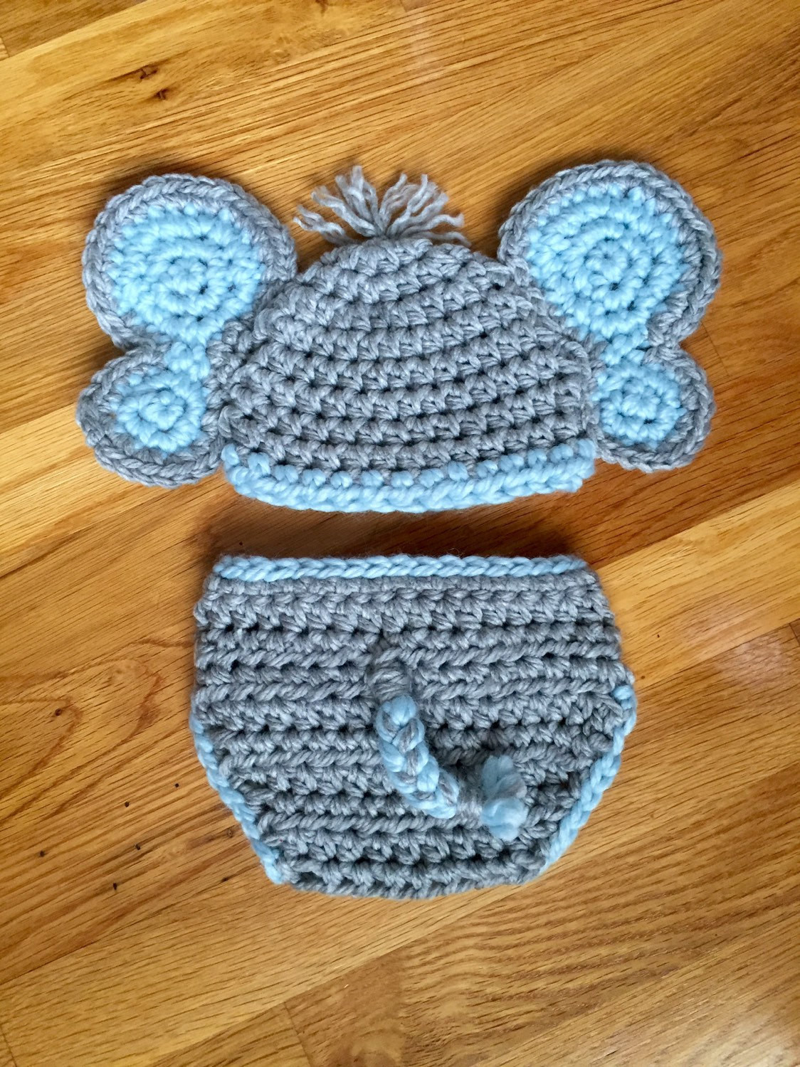 Baby Elephant Hat Best Of Newborn Crochet Baby Elephant Hat and Diaper by Of Marvelous 45 Images Baby Elephant Hat