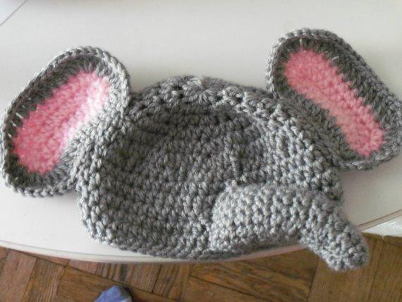 Baby Elephant Hat Best Of Pattern Only Pdf Crochet Elephant Hat for Baby Sizes 0 3mth Of Marvelous 45 Images Baby Elephant Hat