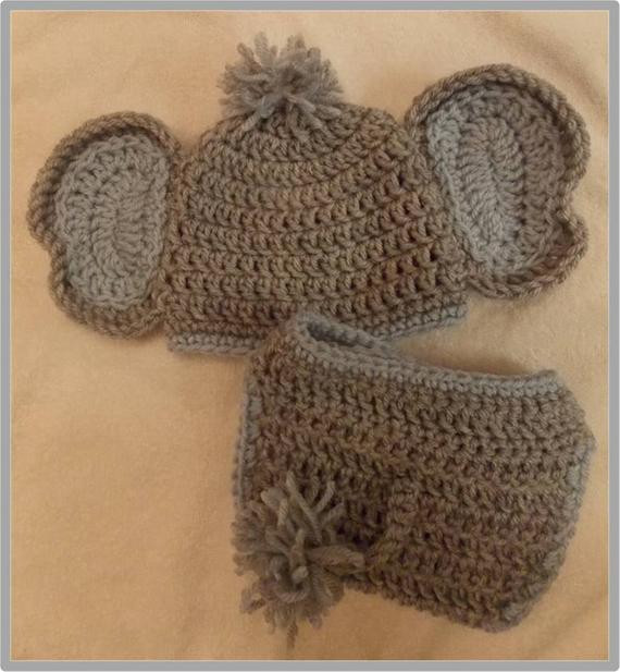 Baby Elephant Hat Fresh Baby Elephant Hat and Diaper Cover Pattern by Of Marvelous 45 Images Baby Elephant Hat