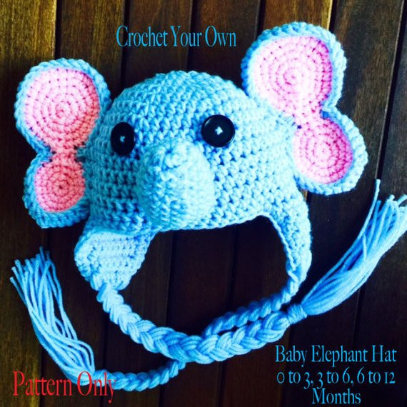 Baby Elephant Hat Fresh Crochet Pattern Baby Elephant Hat Crochet by Avagirldesigns Of Marvelous 45 Images Baby Elephant Hat