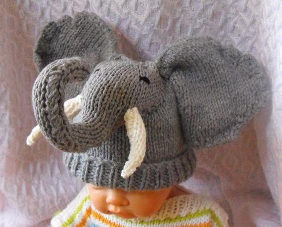 Baby Elephant Hat New Baby Big Ears Elephant Beanie Hat Pdf Knitting by Of Marvelous 45 Images Baby Elephant Hat