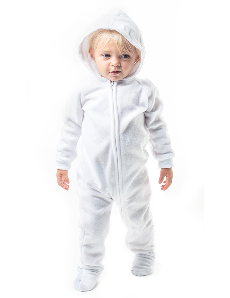 Baby Footed Pajamas Best Of Arctic White Hoo E Piece Infant Hooded Footed Of Amazing 42 Pictures Baby Footed Pajamas