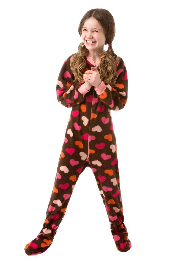 Baby Footed Pajamas Best Of Big Feet Pjs Infant & toddler Chocolate Brown W Heart Of Amazing 42 Pictures Baby Footed Pajamas