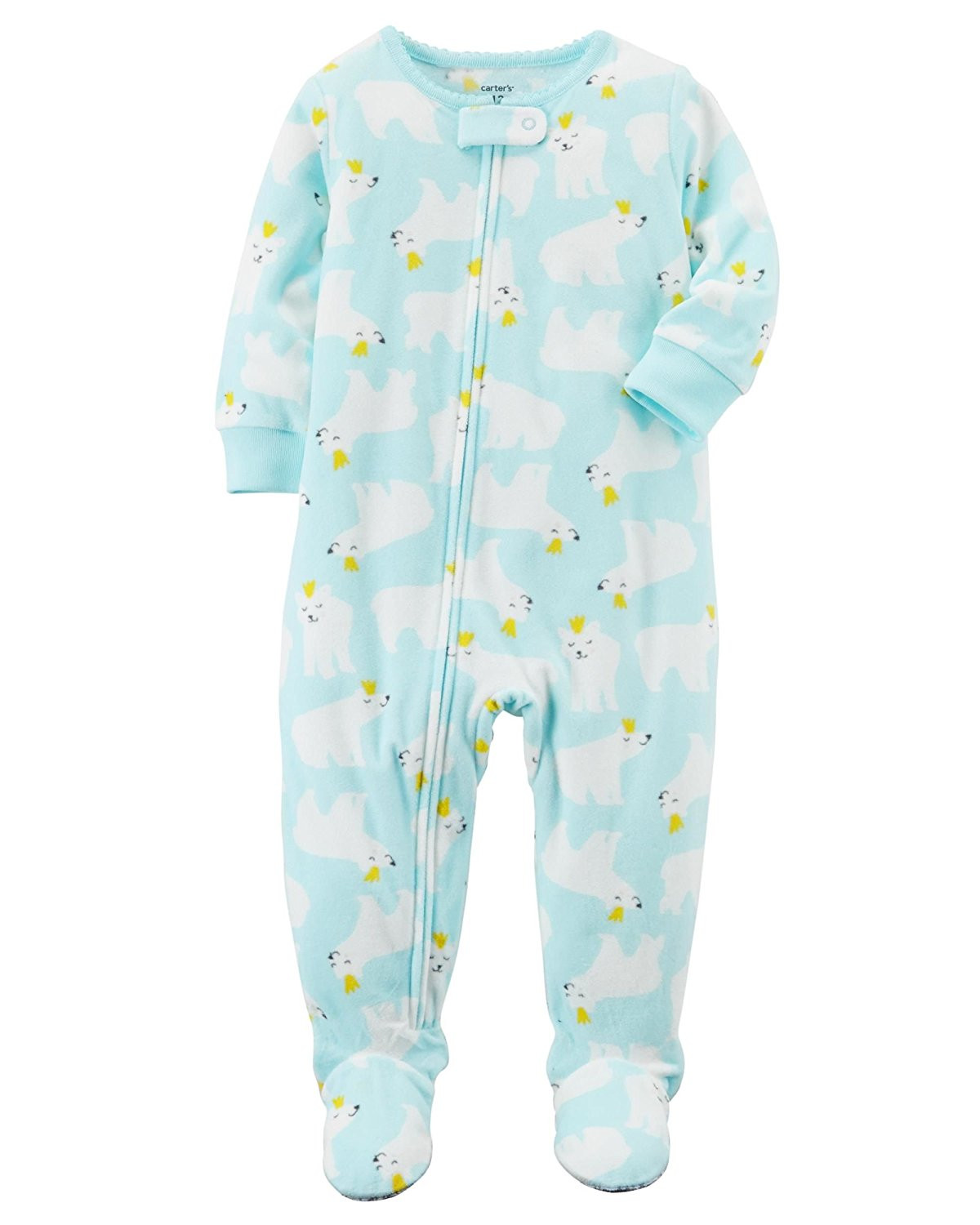 Baby Footed Pajamas Best Of Carter S Baby Girls 1 Piece Footed Fleece Pajamas Of Amazing 42 Pictures Baby Footed Pajamas