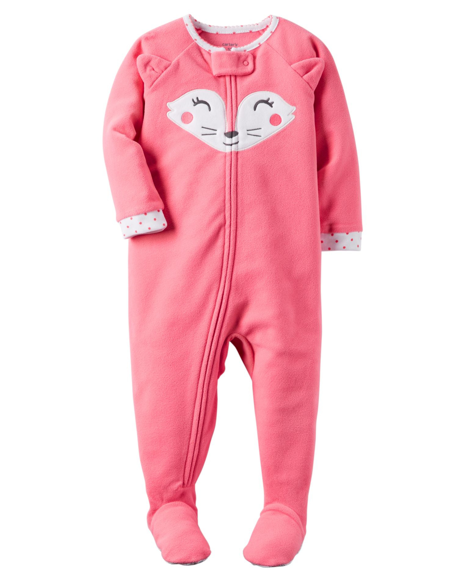 Baby Footed Pajamas Inspirational Carter S Infant & toddler Girls Fleece Footed Pajamas Fox Of Amazing 42 Pictures Baby Footed Pajamas